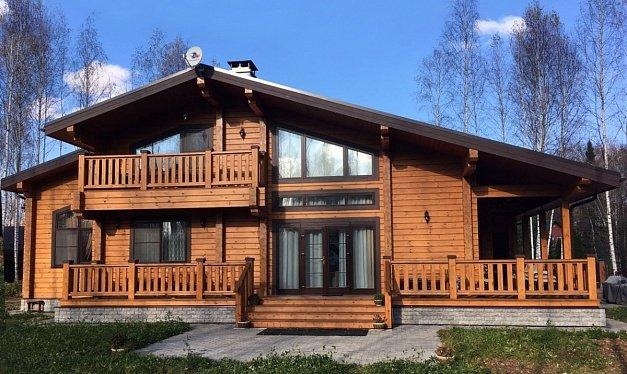 Дома из клееного бруса, проекты и цены на строительство в Москве - ДДМ-СТРОЙ, (495) 995-29-92